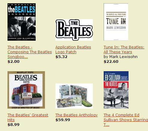 Amazon music store beatles