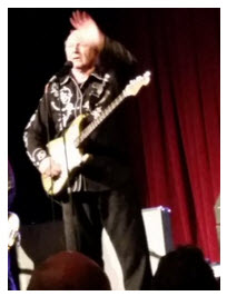 DICK DALE , THE LEGEND, RETURNS TO STAGE AFTER ANOTHER BOUT WITH CANCER