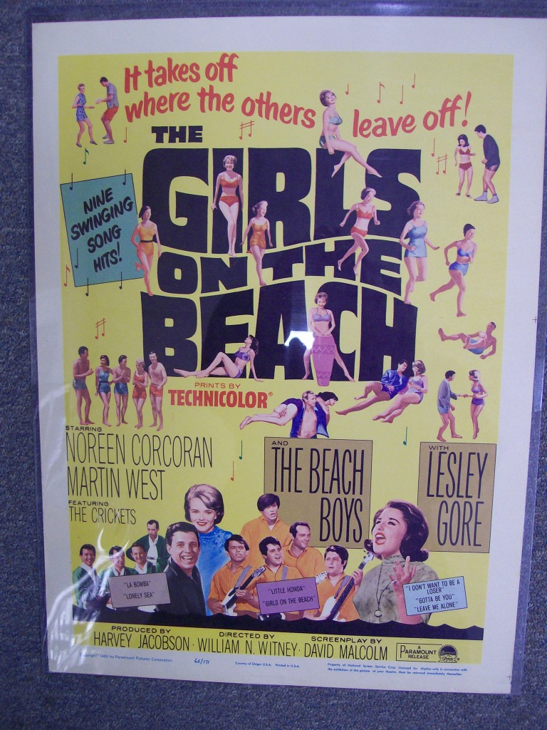 girls on the beach move starring role