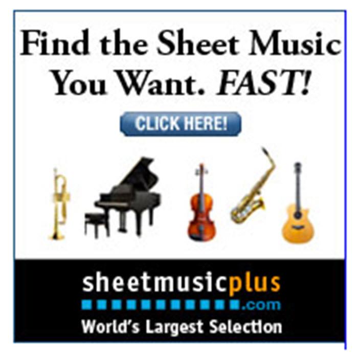 sheet music 700