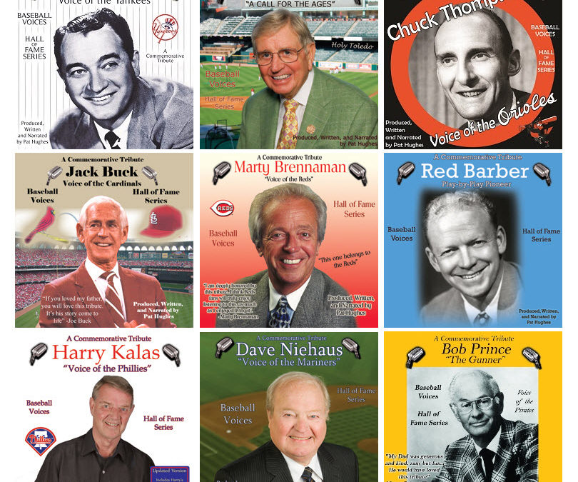 BASEBALL VOICES – Commemorative Tributes to Golden Voices of Baseball Announcing