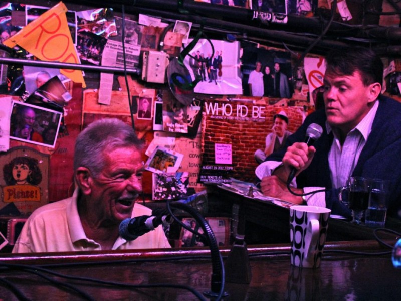 No Karaoke Here – OAKLAND'S ALLEY  55 YEARS Strong with Original Piano Player